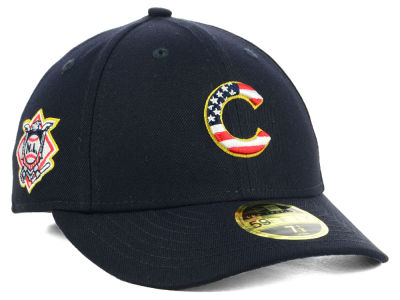 Chicago Cubs New Era 2018 MLB Stars and Stripes Low Profile 59FIFTY Cap