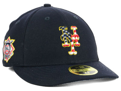 New York Mets New Era 2018 MLB Stars and Stripes Low Profile 59FIFTY Cap