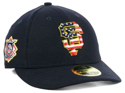 San Francisco Giants New Era 2018 MLB Stars and Stripes Low Profile 59FIFTY Cap
