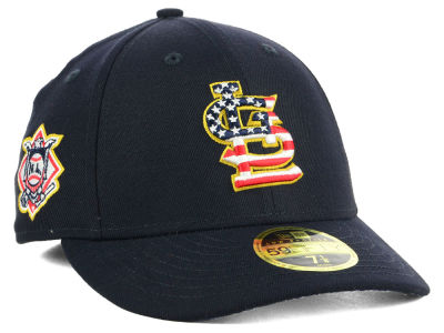 St. Louis Cardinals New Era 2018 MLB Stars and Stripes Low Profile 59FIFTY Cap