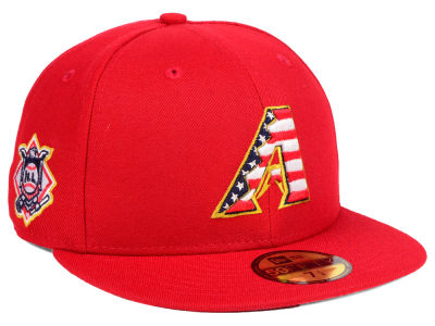 Arizona Diamondbacks New Era 2018 MLB Kids Stars and Stripes 59FIFTY Cap