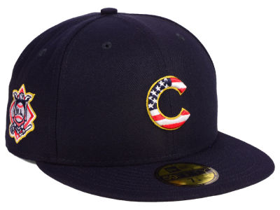 Chicago Cubs New Era 2018 MLB Kids Stars and Stripes 59FIFTY Cap