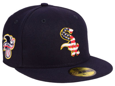 Chicago White Sox New Era 2018 MLB Kids Stars and Stripes 59FIFTY Cap