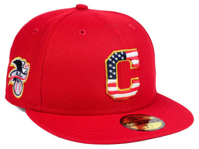 Cleveland Indians New Era 2018 MLB Kids Stars and Stripes 59FIFTY Cap