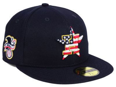Houston Astros New Era 2018 MLB Kids Stars and Stripes 59FIFTY Cap