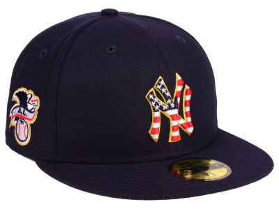 New York Yankees New Era 2018 MLB Kids Stars and Stripes 59FIFTY Cap