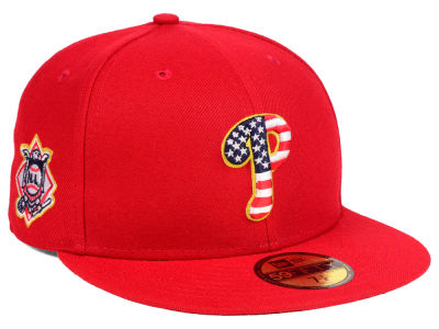 Philadelphia Phillies New Era 2018 MLB Kids Stars and Stripes 59FIFTY Cap