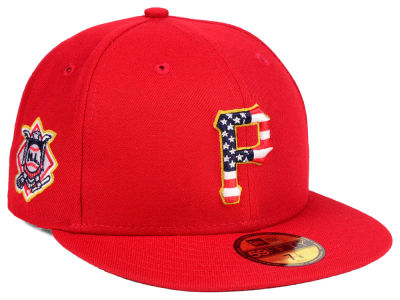 Pittsburgh Pirates New Era 2018 MLB Kids Stars and Stripes 59FIFTY Cap