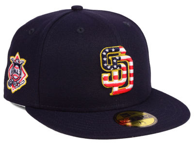 San Diego Padres New Era 2018 MLB Kids Stars and Stripes 59FIFTY Cap