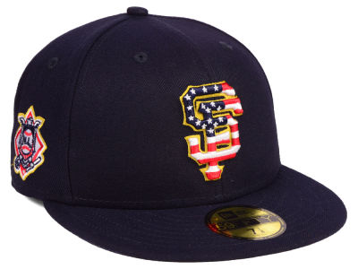 San Francisco Giants New Era 2018 MLB Kids Stars and Stripes 59FIFTY Cap