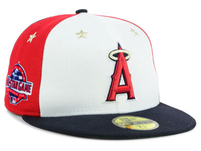 Los Angeles Angels New Era 2018 MLB All Star Game Patch 59FIFTY Cap 379d8fc5588