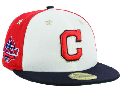 Cleveland Indians New Era 2018 MLB All Star Game Patch 59FIFTY Cap