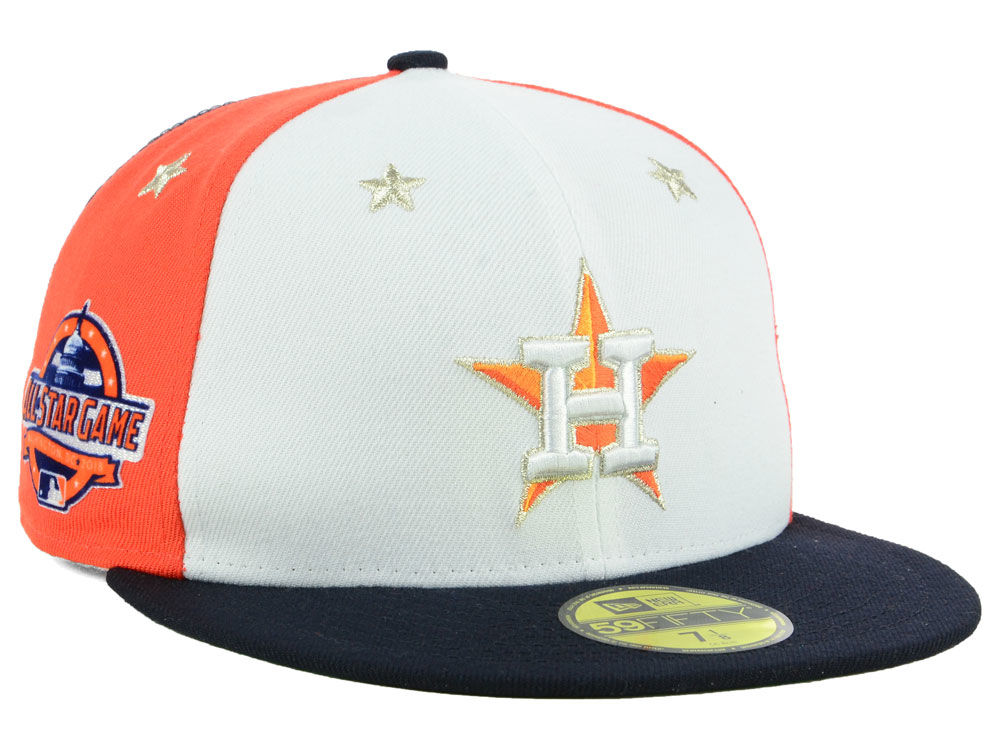 858b35dc132 Houston Astros New Era 2018 MLB All Star Game Patch 59FIFTY Cap ...