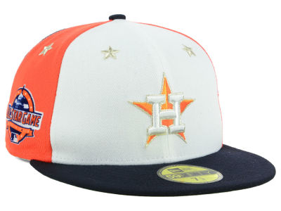 Houston Astros New Era 2018 MLB All Star Game Patch 59FIFTY Cap ed1c3ce8949