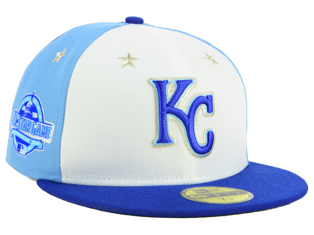 f9ff96b2ec3 Kansas City Royals New Era 2018 MLB All Star Game Patch 59FIFTY Cap ...