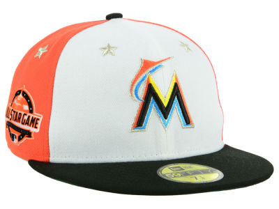 Miami Marlins New Era 2018 MLB All Star Game Patch 59FIFTY Cap