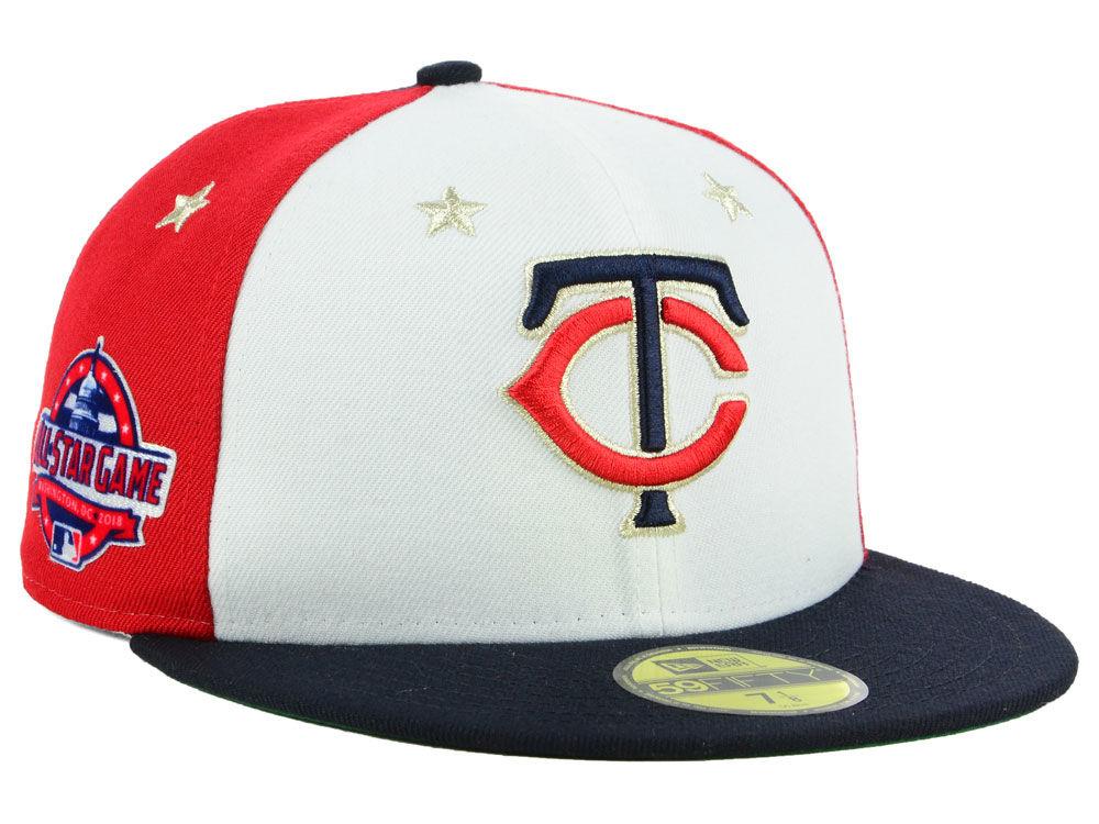 d2019134773 Minnesota Twins New Era 2018 MLB All Star Game Patch 59FIFTY Cap ...
