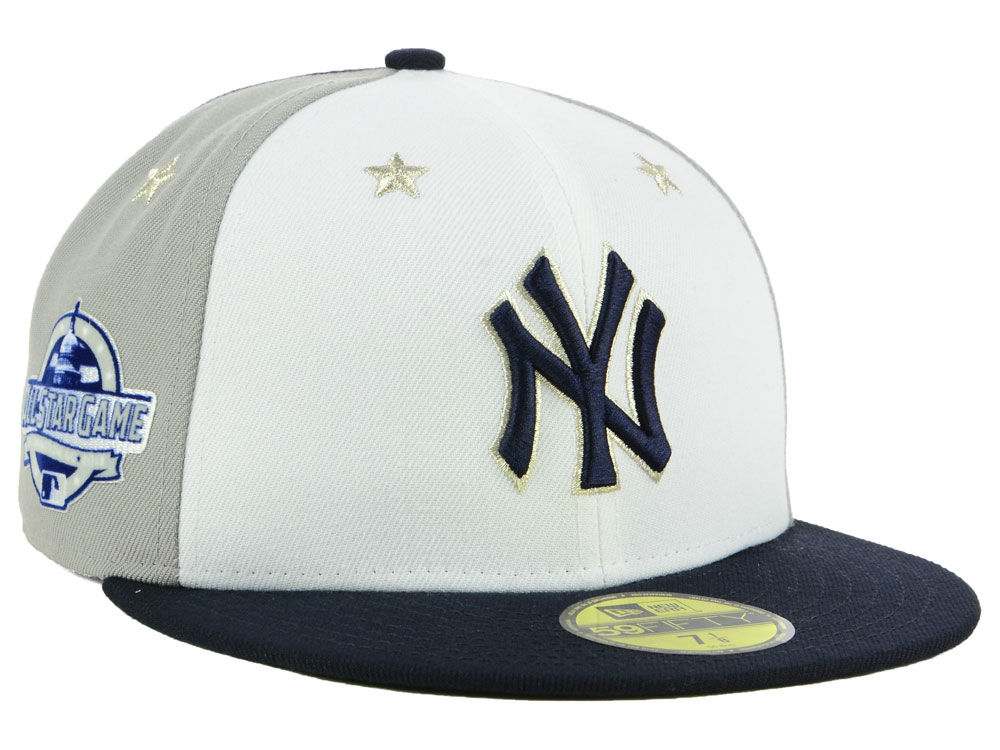 New York Yankees New Era 2018 MLB All Star Game Patch 59FIFTY Cap ... 34106e08c