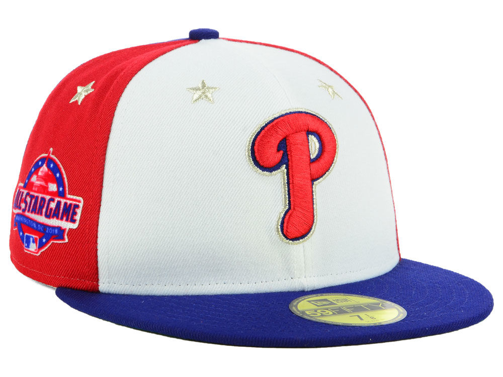 Philadelphia Phillies New Era 2018 MLB All Star Game Patch 59FIFTY Cap  811eb103e6e