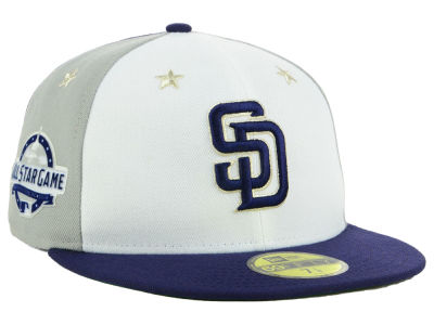 San Diego Padres New Era 2018 MLB All Star Game Patch 59FIFTY Cap