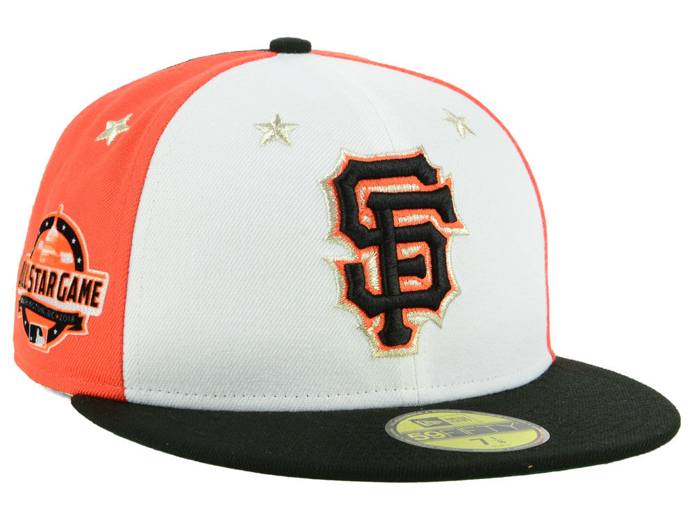 San Francisco Giants New Era 2018 MLB All Star Game Patch 59FIFTY Cap  2dae174e58e8