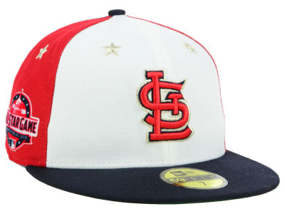 St. Louis Cardinals New Era 2018 MLB All Star Game Patch 59FIFTY Cap