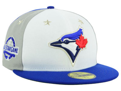 Toronto Blue Jays New Era 2018 MLB All Star Game Patch 59FIFTY Cap