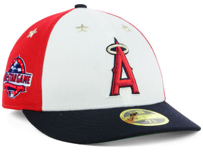 Los Angeles Angels New Era 2018 MLB All Star Game Patch Low Profile 59FIFTY Cap
