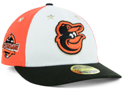 Baltimore Orioles New Era 2018 MLB All Star Game Patch Low Profile 59FIFTY Cap