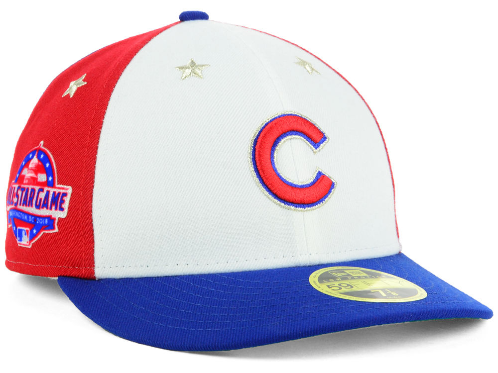 602e44a6c28 Chicago Cubs New Era 2018 MLB All Star Game Patch Low Profile 59FIFTY Cap