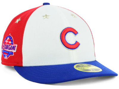 Chicago Cubs New Era 2018 MLB All Star Game Patch Low Profile 59FIFTY Cap