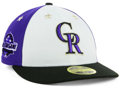 Colorado Rockies New Era 2018 MLB All Star Game Patch Low Profile 59FIFTY Cap