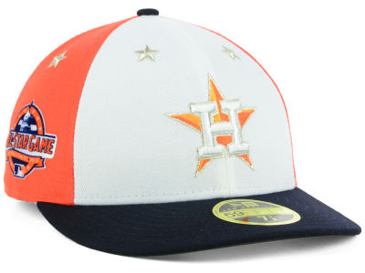 Houston Astros New Era 2018 MLB All Star Game Patch Low Profile 59FIFTY Cap