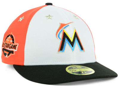 Miami Marlins New Era 2018 MLB All Star Game Patch Low Profile 59FIFTY Cap
