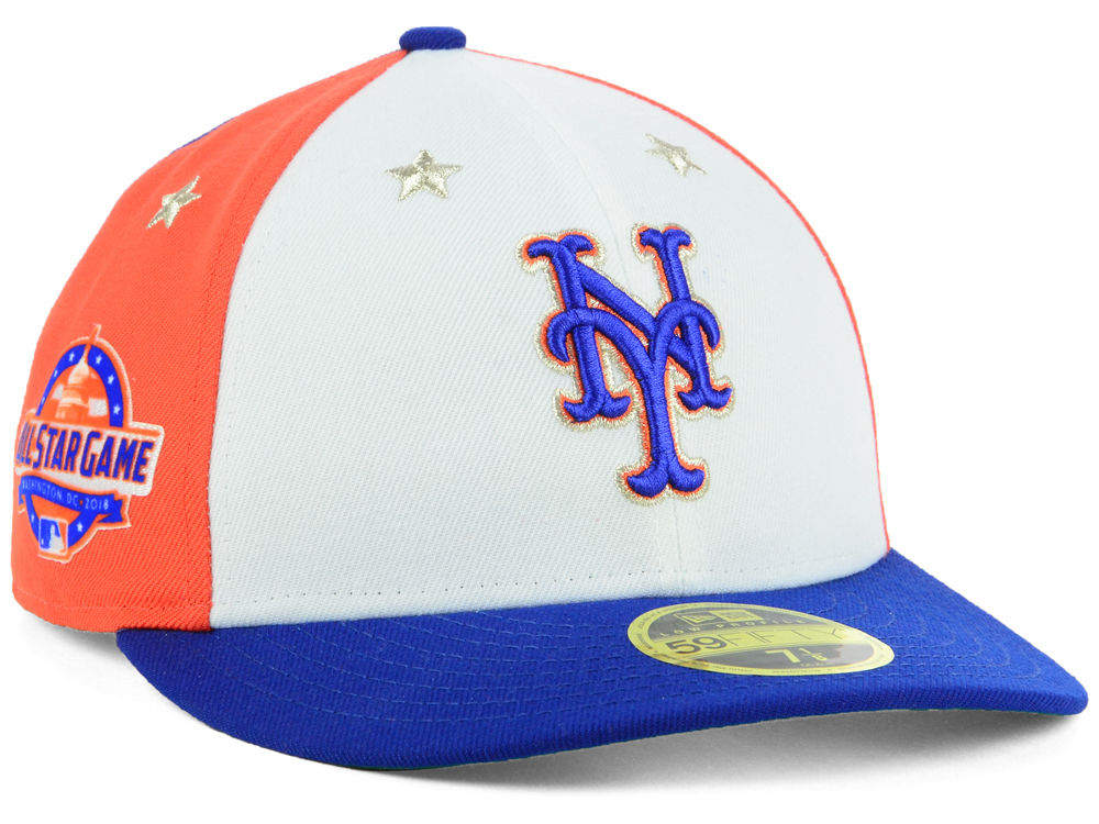 New York Mets New Era 2018 MLB All Star Game Patch Low Profile 59FIFTY Cap   22757cbd169
