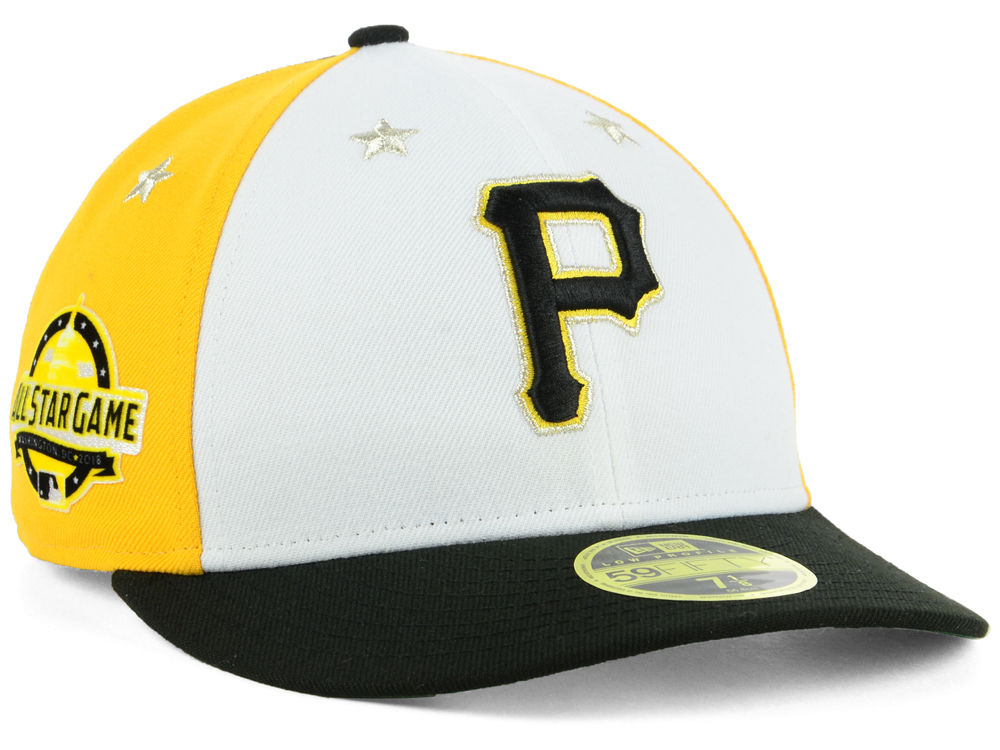 3c2f5c57801 Pittsburgh Pirates New Era 2018 MLB All Star Game Patch Low Profile 59FIFTY  Cap