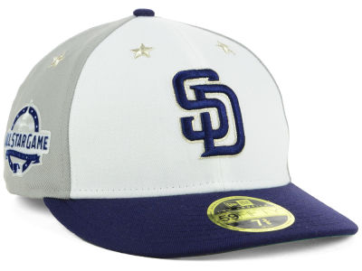San Diego Padres New Era 2018 MLB All Star Game Patch Low Profile 59FIFTY Cap