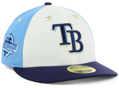 Tampa Bay Rays New Era 2018 MLB All Star Game Patch Low Profile 59FIFTY Cap