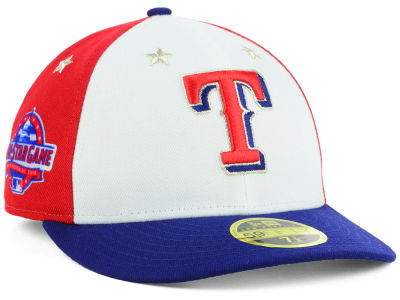 Texas Rangers New Era 2018 MLB All Star Game Patch Low Profile 59FIFTY Cap