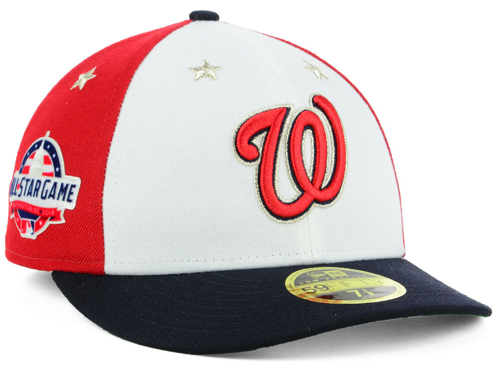 baea3c4091320a ... best washington nationals new era 2018 mlb all star game patch low  profile 59fifty cap lids