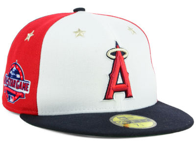 Los Angeles Angels New Era 2018 MLB Kids All Star Game Patch 59FIFTY Cap
