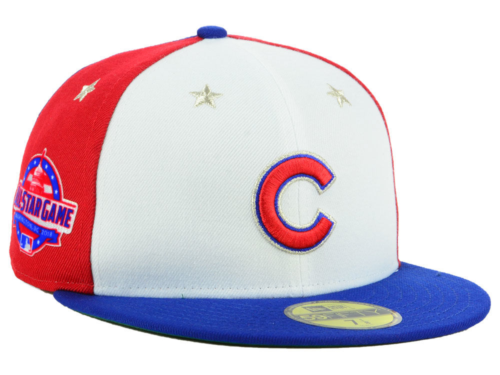 Chicago Cubs New Era 2018 MLB Kids All Star Game Patch 59FIFTY Cap ... e79b2205550