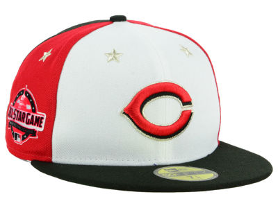 Cincinnati Reds New Era 2018 MLB Kids All Star Game Patch 59FIFTY Cap