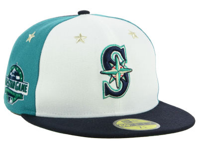 Seattle Mariners New Era 2018 MLB Kids All Star Game Patch 59FIFTY Cap