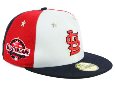 St. Louis Cardinals New Era 2018 MLB Kids All Star Game Patch 59FIFTY Cap