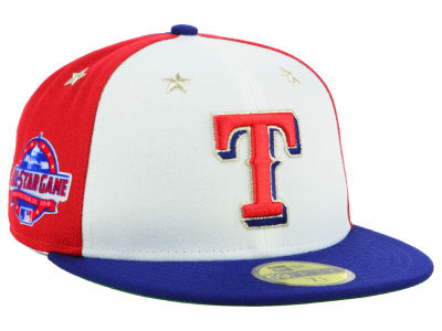 Texas Rangers New Era 2018 MLB Kids All Star Game Patch 59FIFTY Cap