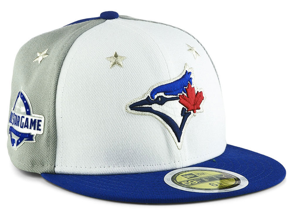 the latest 948f0 166a5 ... denmark toronto blue jays new era 2018 mlb kids all star game patch  59fifty cap lids