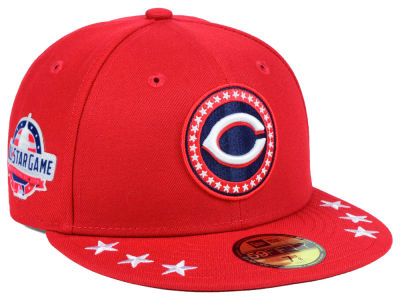 Cincinnati Reds New Era 2018 MLB All Star Workout 59FIFTY Cap