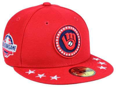 Milwaukee Brewers New Era 2018 MLB All Star Workout 59FIFTY Cap