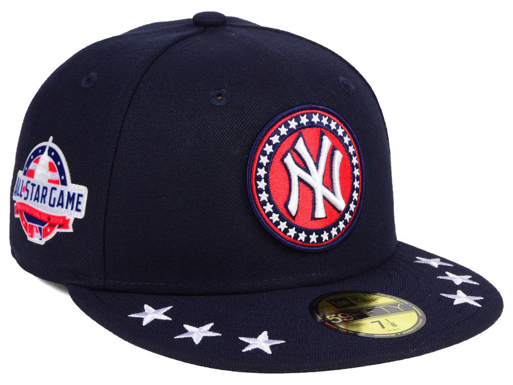 New York Yankees New Era 2018 MLB All Star Workout 59FIFTY Cap ... 4b1dc707076b